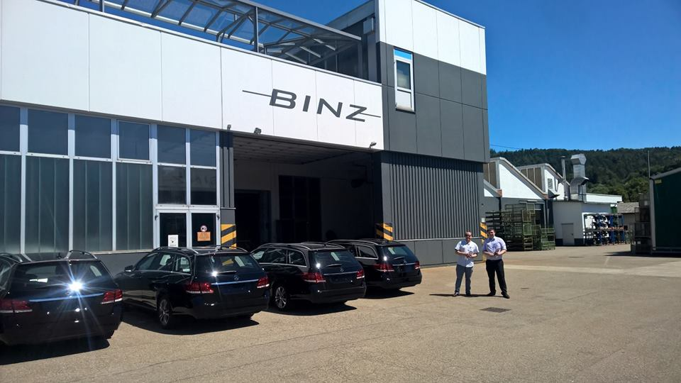 Superior UK Hosts FC Douch At Binz Factory in Germany