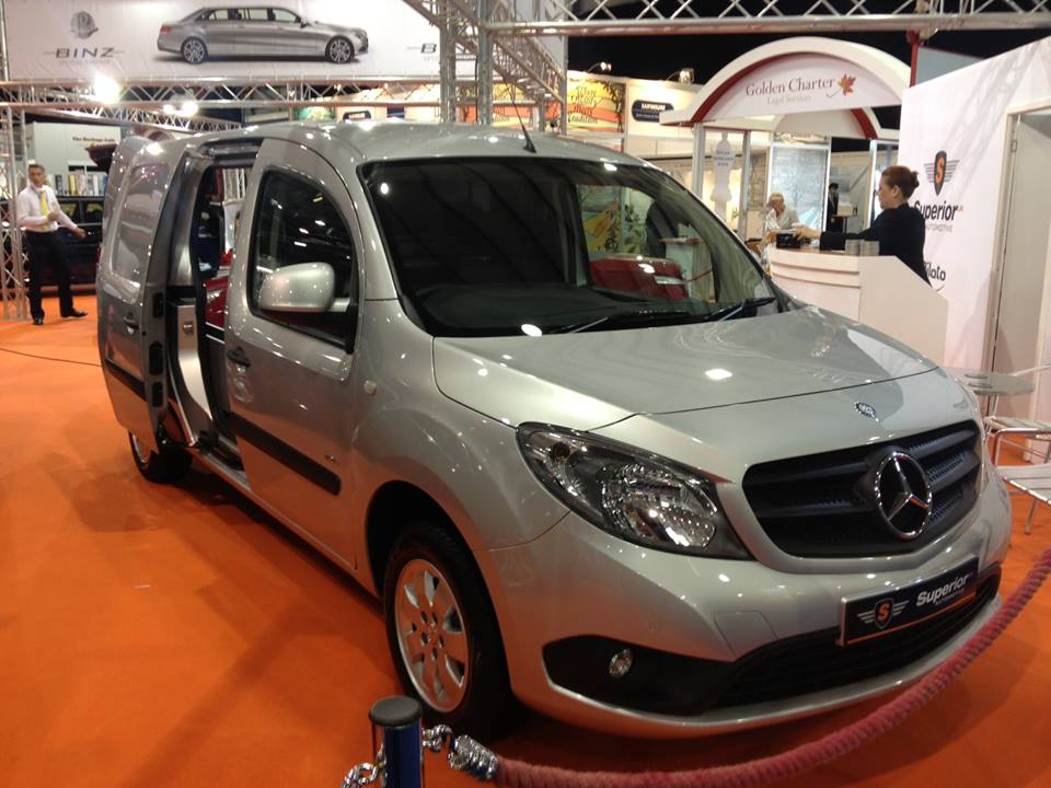 Introducing the new Mercedes Benz Citan removal vehicle