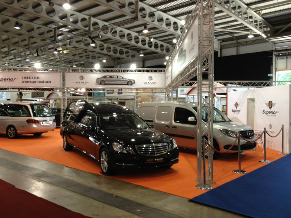 Superior Automotive at the National Funeral Exhibition