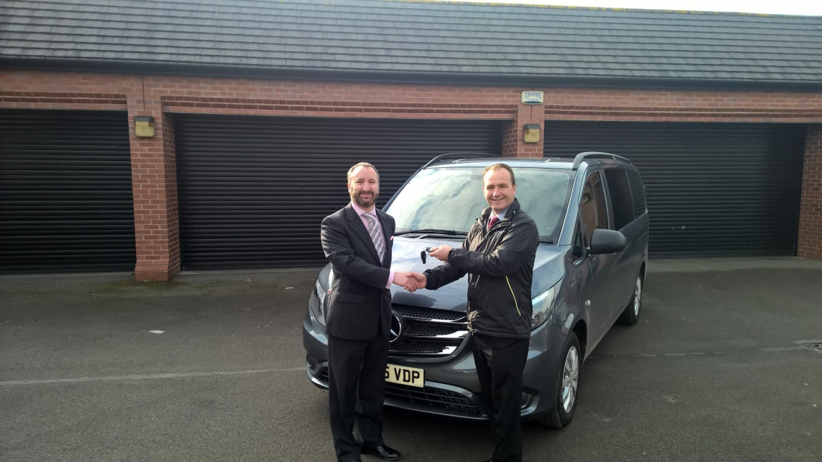 The Latest Mercedes-Benz Vito Joins Heart of England Co-operative's Fleet