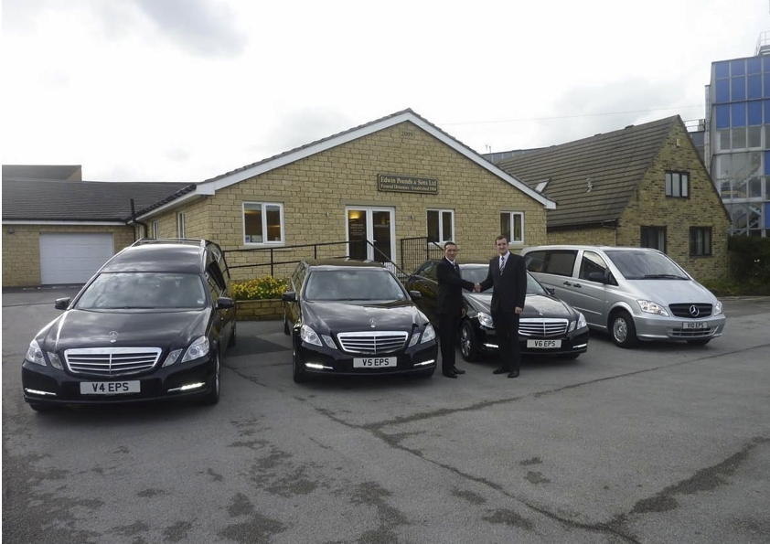 Third full funeral fleet for Edwin Pounds and Sons
