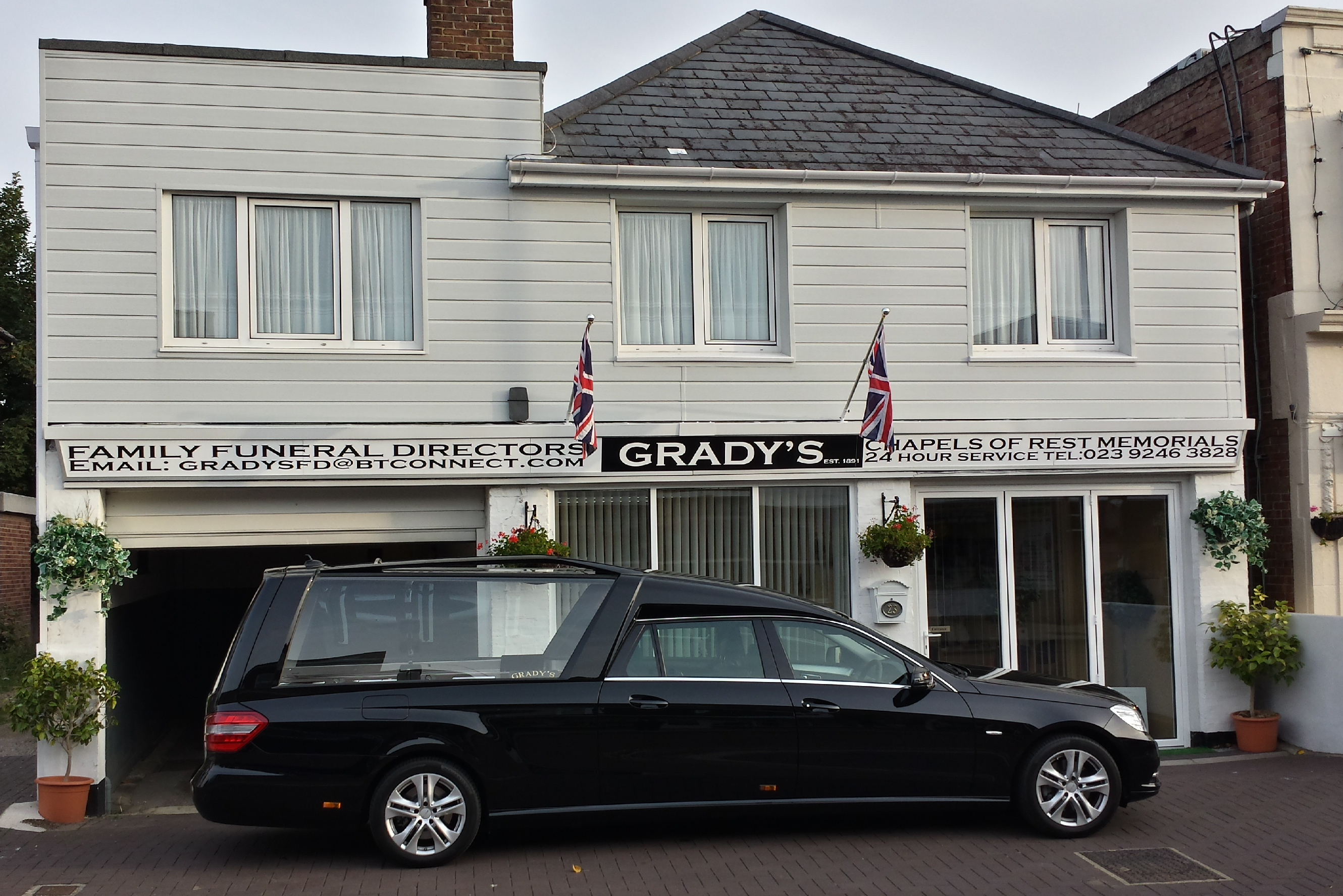 Why Grady's Funeral Directors chose Superior UK as funeral vehicle supplier