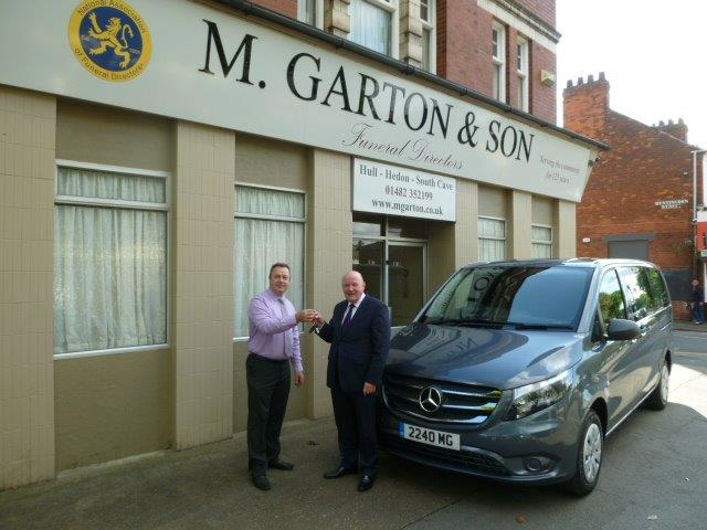 New Vito Private Ambulance Brings Fleet In Line For M Garton & Son