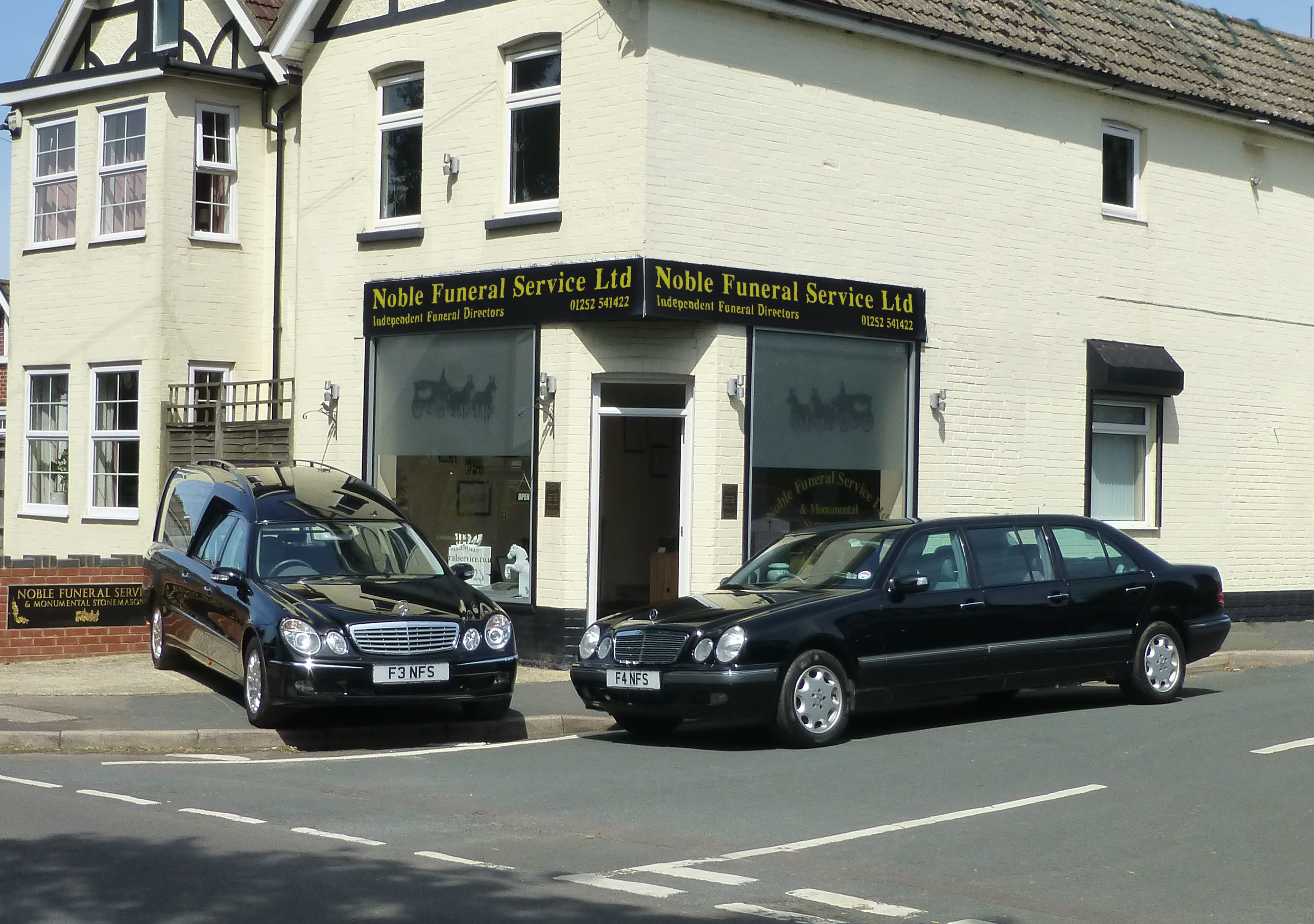 Noble Funeral Service continue to make the Superior choice for funeral vehicles