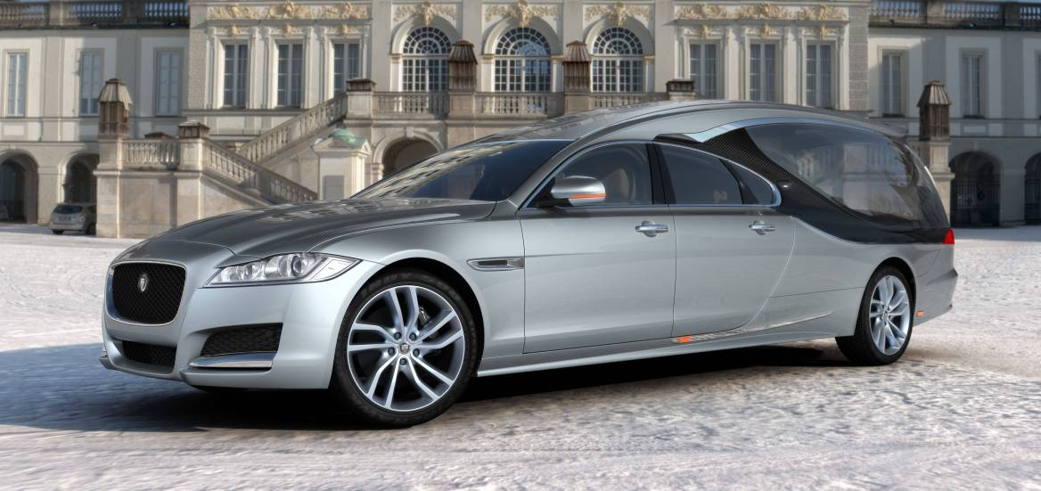 New Dawn As Pilato's Latest Jaguar XF Hearse Comes To The UK