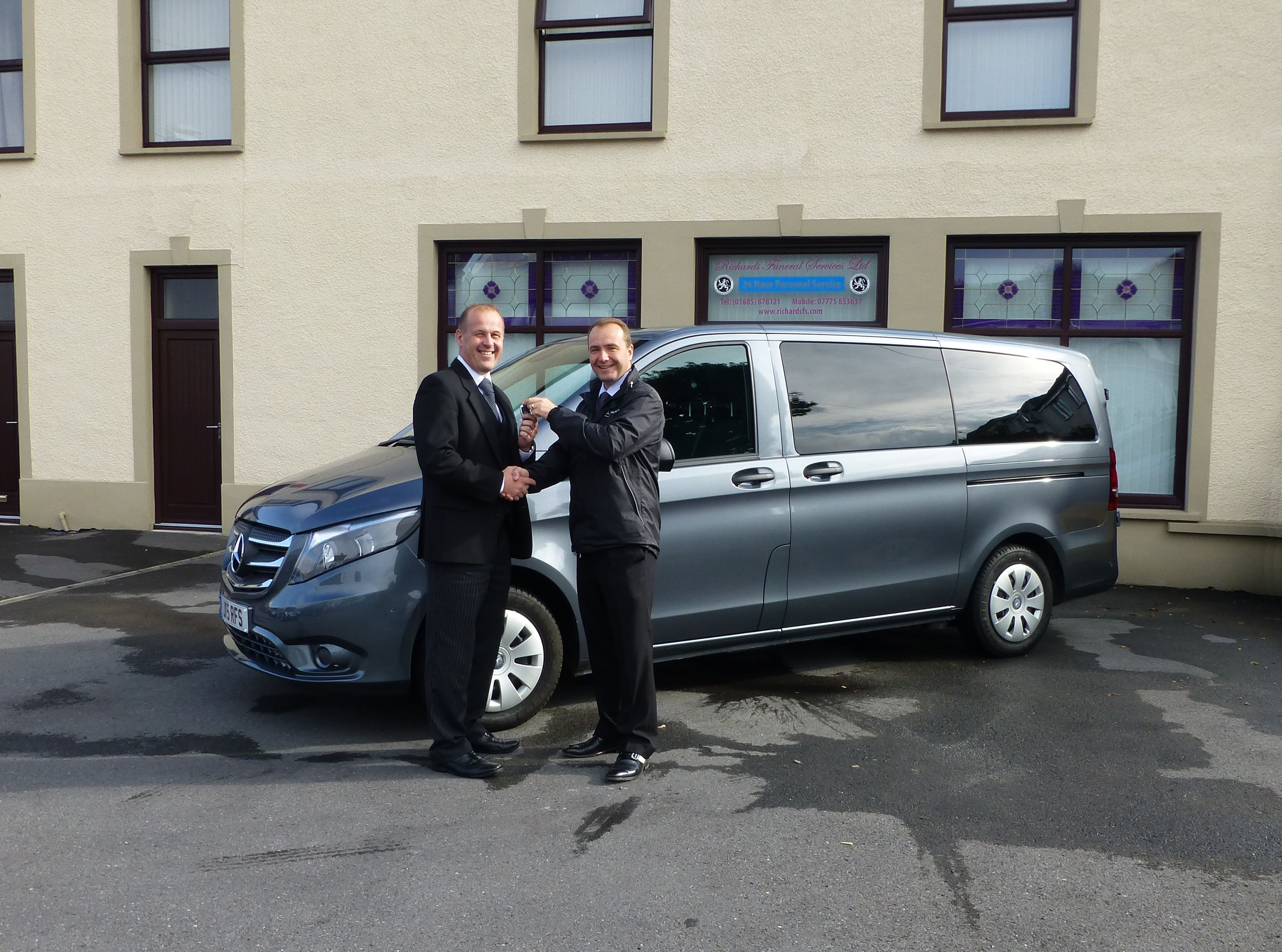 Why Richards Funeral Services Chose Bespoke Removal Vehicle Over Self-Build