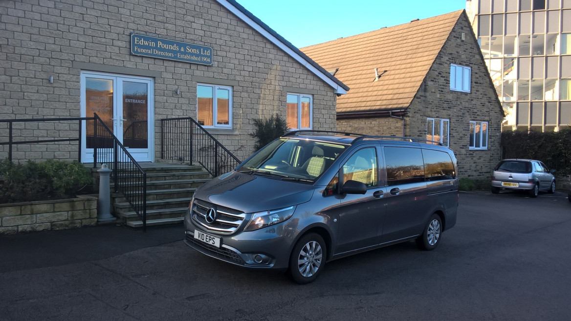 A Comfier Drive For Edwin Pounds With New-Style Vito Removal Vehicle