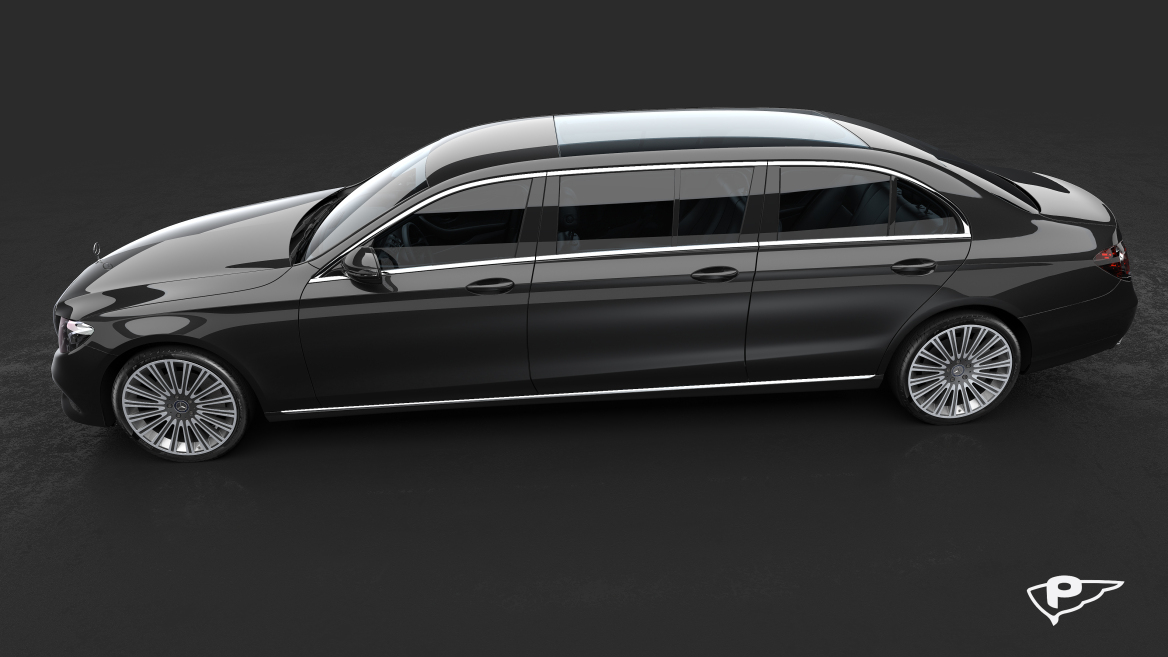 Pilato E-Class Limousine To Join Polaris In Luxury Mercedes Line-Up