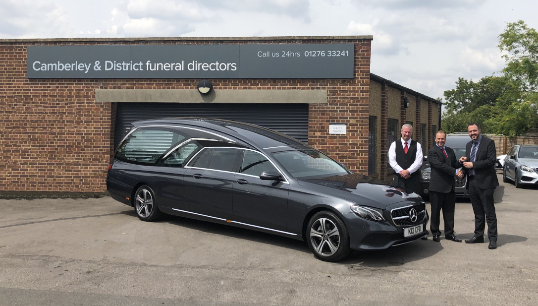 First UK Polaris Hearse Is Hand-Signed During Build By Southern Co-op