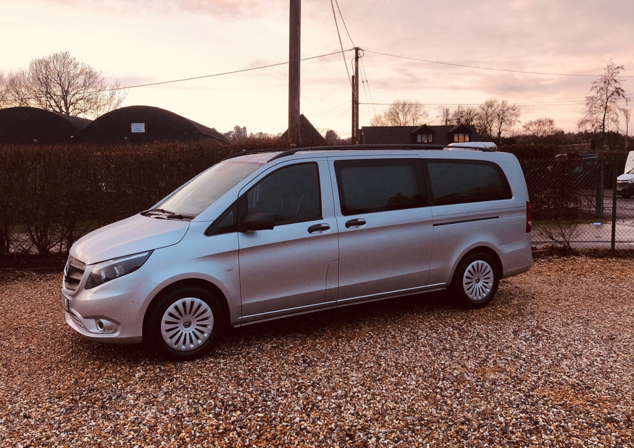 Customised Extra-Long Vito Makes Life Easier For Douch Family Funeral Directors