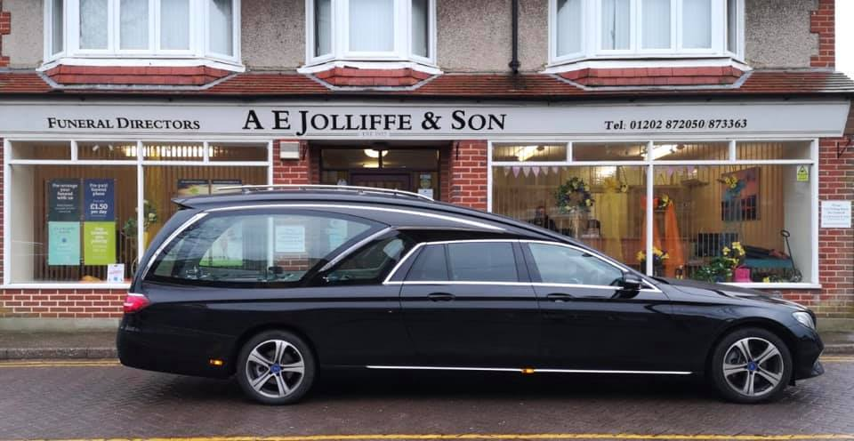 "Three New PilatoMercedes ""Polaris"" Hearses For FC Douch Of Dorset"