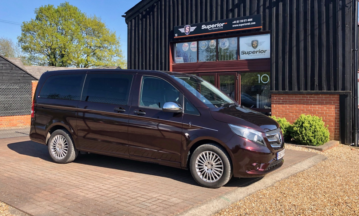 G Seller & Co Take Delivery Of New Vito Tourer Removal Vehicle