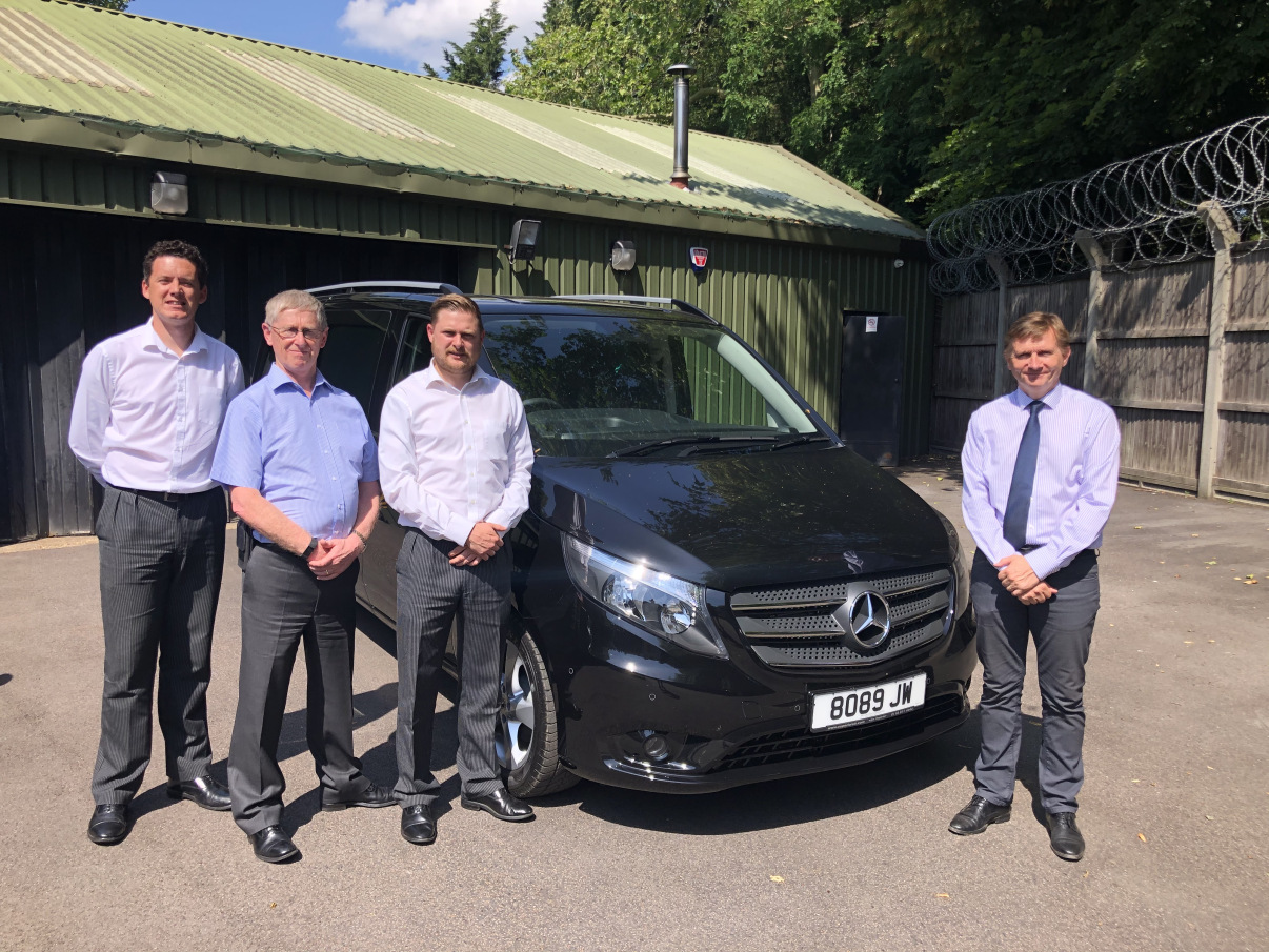 John Weir FD Upgrade Fleet With Brand-New Vito From Superior UK