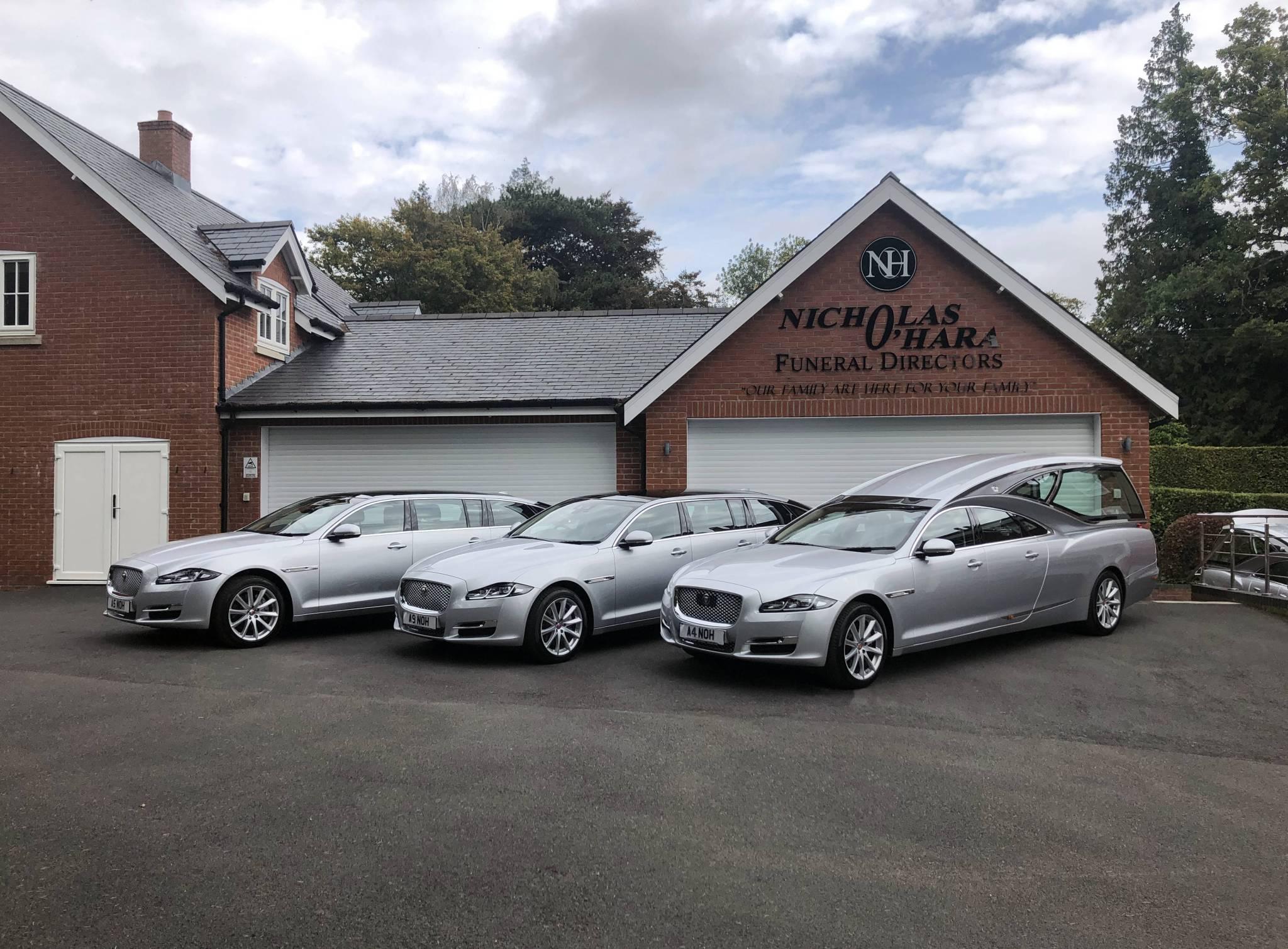 New Pilato Jaguar XJ Fleet For Nicholas O'Hara Funeral Directors